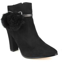 Sapatos Mulher Botins Azarey L Boot Lady Preto