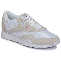 Sapatos Sapatilhas Reebok Classic CL NYLON Branco / Bege