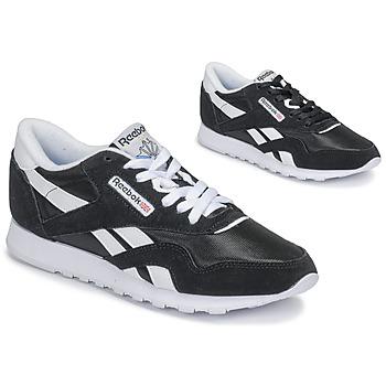 Sapatos Mulher Sapatilhas Reebok Classic CL NYLON Preto