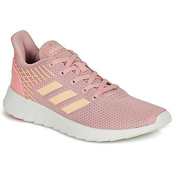 Sapatos Mulher Sapatilhas de corrida adidas Performance ASWEERUN Rosa