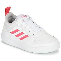Sapatos Rapariga Sapatilhas adidas Performance TENSAUR K Branco / Rosa
