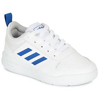 Sapatos Rapaz Sapatilhas adidas Performance TENSAUR K Branco / Azul