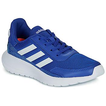 Sapatos Rapaz Sapatilhas adidas Performance TENSAUR RUN K Azul / Branco