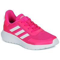 Sapatos Rapariga Sapatilhas adidas Performance TENSAUR RUN K Rosa / Branco