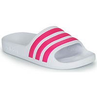 Sapatos Rapariga chinelos adidas Performance ADILETTE AQUA K Branco / Rosa