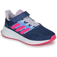 Sapatos Rapariga Sapatilhas adidas Performance RUNFALCON C Azul / Rosa