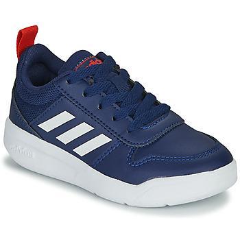 Sapatos Criança Sapatilhas adidas Performance TENSAUR K Azul / Branco