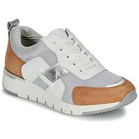 Sapatos Mulher Sapatilhas Caprice BEBENE Branco / Camel