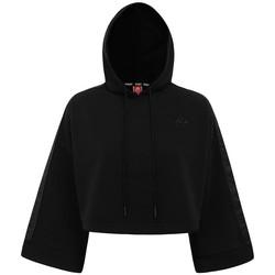 Textil Mulher Sweats Kappa Sweatshirt femme  Authentic Allas noir