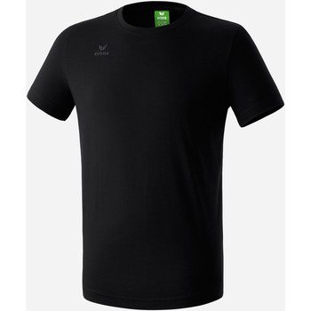 Textil Rapaz T-Shirt mangas curtas Erima T-shirt  Teamsport noir