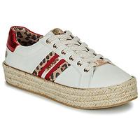 Sapatos Mulher Sapatilhas Dockers by Gerli 46GV202-509 Branco / Multi