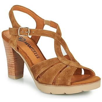 Sapatos Mulher Sandálias Mam'Zelle TIMBA Conhaque