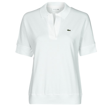 Textil Mulher Polos mangas curta Lacoste BERRY Branco