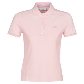 Textil Mulher Polos mangas curta Lacoste PH5462 SLIM Rosa