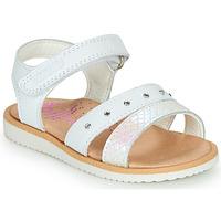 Sapatos Rapariga Sandálias Pablosky  Branco