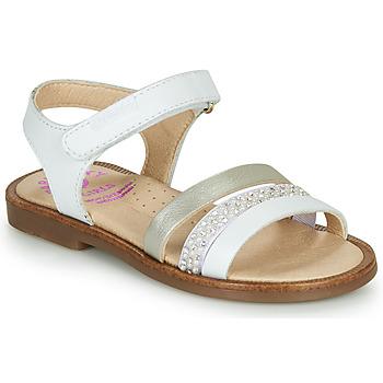 Sapatos Rapariga Sandálias Pablosky  Branco / Nacre
