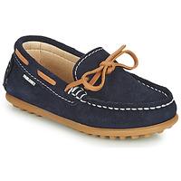 Sapatos Rapaz Mocassins Pablosky  Marinho / Camel