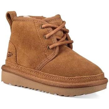 Sapatos Rapaz Botas de neve UGG K NEUMEL II bege