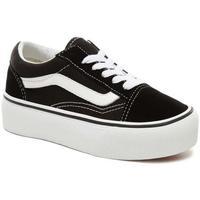 Sapatos Criança Sapatilhas Vans Kids UY Old Skool Platform preto