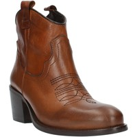 Sapatos Mulher Botins Exton MZ40 Castanho