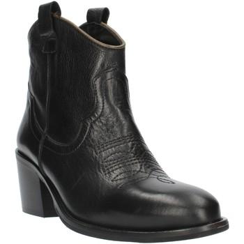 Sapatos Mulher Botins Exton MZ40 Preto