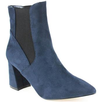 Sapatos Mulher Botins Azarey L Boot Lady Marinho