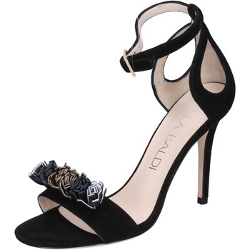 Sapatos Mulher Sandálias Lella Baldi Sandálias BP10 Preto