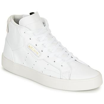 Sapatos Mulher Sapatilhas adidas Originals adidas SLEEK MID W Branco