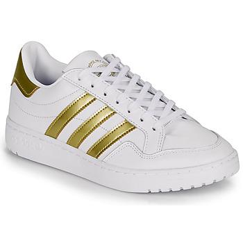 Sapatos Mulher Sapatilhas adidas Originals MODERN 80 EUR COURT W Branco / Ouro