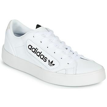 Sapatos Mulher Sapatilhas adidas Originals adidas SLEEK W Branco