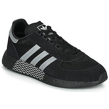 Sapatos Sapatilhas adidas Originals MARATHON TECH Preto / Branco