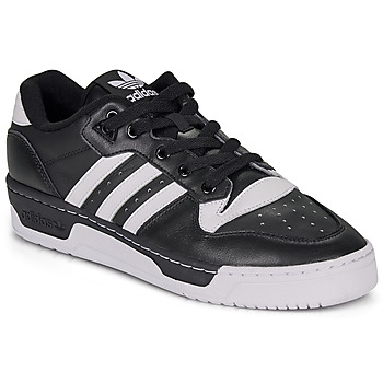 Sapatos Sapatilhas adidas Originals RIVALRY LOW Preto / Branco