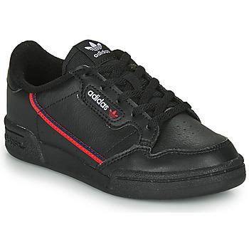 Sapatos Criança Sapatilhas adidas Originals CONTINENTAL 80 C Preto