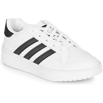 Sapatos Criança Sapatilhas adidas Originals Novice C Branco / Preto