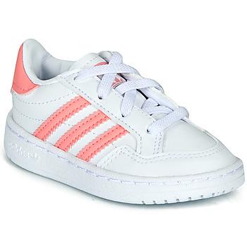 Sapatos Rapariga Sapatilhas adidas Originals NOVICE EL I Branco / Rosa