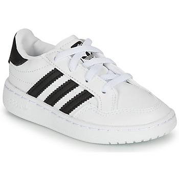 Sapatos Criança Sapatilhas adidas Originals NOVICE EL I Branco / Preto