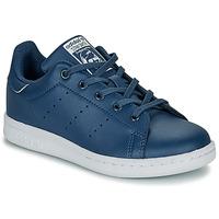 Sapatos Rapaz Sapatilhas adidas Originals STAN SMITH C Azul