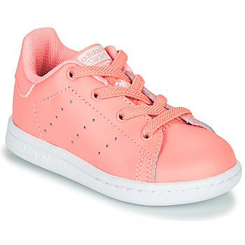 Sapatos Rapariga Sapatilhas adidas Originals STAN SMITH EL I Rosa