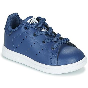Sapatos Rapaz Sapatilhas adidas Originals STAN SMITH EL I Marinho