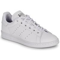 Sapatos Rapariga Sapatilhas adidas Originals STAN SMITH J Branco