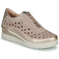 Sapatos Mulher Sapatilhas Stonefly CREAM 22 Bege / Ouro