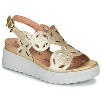 Sapatos Mulher Sandálias Stonefly PARKY 9 Ouro