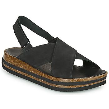 Sapatos Mulher Sandálias Think ZEGA Preto