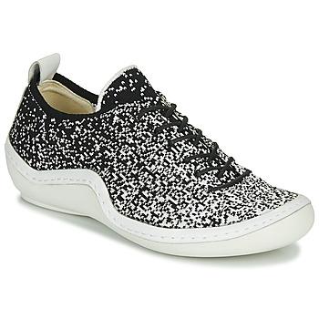 Sapatos Mulher Sapatilhas Think KAPSL Preto / Branco