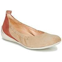 Sapatos Mulher Sabrinas Think CUGAL Bege / Vermelho
