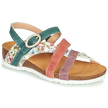 Sapatos Mulher Sandálias Think JULIA Vermelho / Verde / Branco