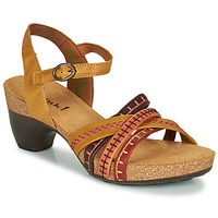 Sapatos Mulher Sandálias Think TRAUDI Amarelo / Vermelho