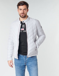 Textil Homem Quispos Guess SUPER FITTED JKT TRAVEL Branco