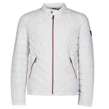 Textil Homem Quispos Guess SUPER FITTED JKT TRAVEL Branco