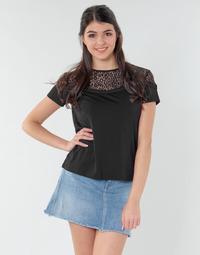 Textil Mulher Tops / Blusas Guess ALICIA TOP Preto